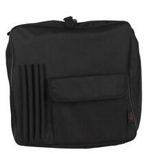 Drum sticks Zippered Mallet Bag Case with Pockets Shoulder Strap Dark W