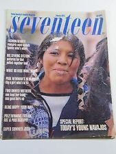 Seventeen Magazine- January 1973- Paul Newman