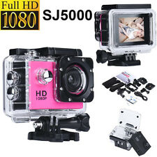 SJ5000 12MP Ultra HD 1080P Waterproof Action Camcorder Sports DV Kamera Car Cam