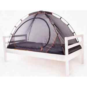 DERYAN Mosquito Bed Tent Black Heavy Duty Kids Toddler Children Adult Camping