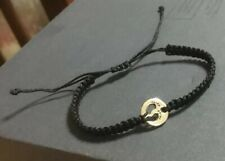 Baby Foot bracelet Black Handmade