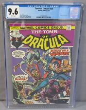 TOMB OF DRACULA #30 (Blade appearance) CGC 9.6 NM+ White Pgs Marvel Comics 1975