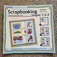 Paper Boutique Debbie Mumm Simple Summer Scrapbook Kit *NEW