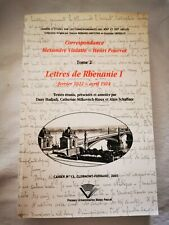 LETTRES DE RHÉNANIE I.  TOME 2