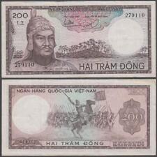 Viet Nam - South, 200 Dong, ND (1966), VF+++, P-20(b)