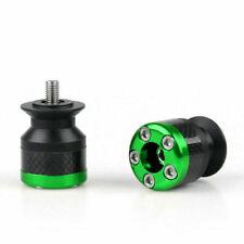 Universal Motorcycle CNC Carbon Fiber 6mm Ständeraufnahme Schwinge Green E1