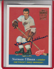 """2001-02 TOPPS OPC ARCHIVES NORM ULLMAN """"RED WINGS/MAPLE LEAFS"""" AUTO AUTOGRAPH"""