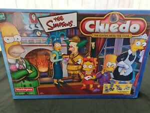 New Sealed The Simpsons Cluedo Waddingtons Hasbro pewter collectors edition RARE
