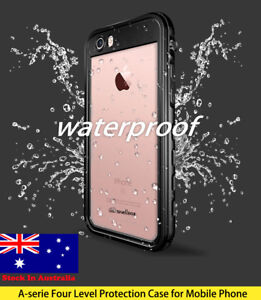 Heavy Duty Iphone X, XS, XS Max, 7, 8, 8 Plus Waterproof Armor Tough Protective