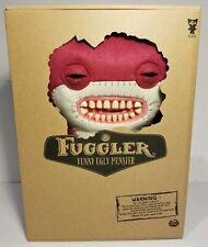 "Fuggler Awkward Bear Burgundy Red 12"" Plush Funny Ugly Monster Sealed Deluxe"