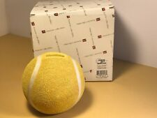 Character Collectibles Tennis Ball Bank Game Set Match Yellow Us Open Nib New
