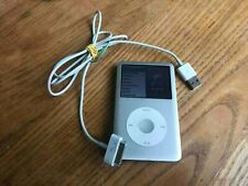 ipod classic 160gb model A1238 silver used
