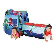 Pj Mask Play Tent Hut Tunnel Toy Kids Toddler Indoor Outdoor Portable Gift New