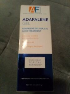 AcneFree Adapalene Gel Retinoid Acne Treatment 0.5oz