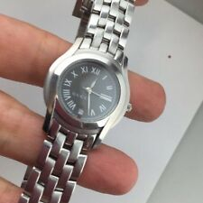 Nice & Clean Gucci 5500L STEEL DRESS Swiss LADIES Watch Serviced!!
