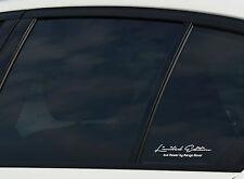 Limited Edition by Range Rover Aufkleber Sticker 2er SET Motorsport Evoque 4x4