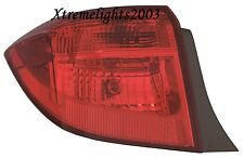 TOYOTA COROLLA 2017 SE XLE LEFT DRIVER OUTER TAILLIGHT REAR LAMP TAIL LIGHT