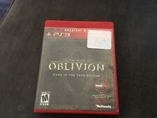 The Elder Scrolls IV 4 : Oblivion. Game Of The Year Edition. PS3 Playstation 3