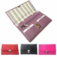 Golunski 1004 Lockable Leather Travel Wallet Organiser Document Holder.