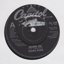 """DIANA ROSS ~ Missing you  ~1984 7"""""""
