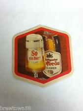 Beer coaster bar coasters 1 Gtuttgarter Hofbrau Pilsner So ein bier import  AJ7