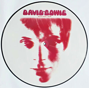DAVID BOWIE ROCK 'N' ROLL NOW LP PICTURE-DISC LIMITED & NUMBERED EDITION