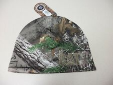 """Caterpillar Realtree AP XTRA Camouflage Beanie Cap Embroidered """"CAT"""" logo Camo"""