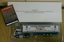 Corgi CC18009 1:76 Volvo FH Fridge Trailer B. B. Read Int. Ltd Ed Factory Sample