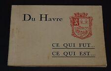 1945 PHOTOS GUERRE 39-45 LE HAVRE BOMBARDEMENTS NORMANDIE AVANT/APRES