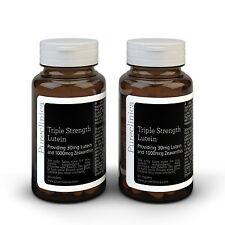 Triple Strength Lutein - 6 months supply - 30mg Lutein & 1000mcg Zeaxanthin