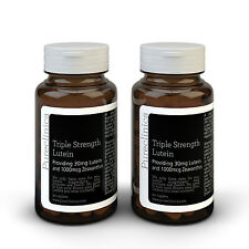 Triple fuerza luteína - 6 meses de suministro - 30mg luteína & 1000mcg zeaxantina