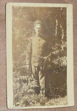 Soldier With Ammo Belt Early 1900s Postcard Great Photo See!