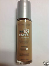 Maybelline Instant Age Rewind Foundation PURE BEIGE (Medium-2) Silver Color Cap