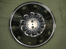 """RV Hub Cap- 20.5"""" Wheel Cover- Stainless Steel Rim Cover 10 Lug and 20 1/2"""" -NEW"""