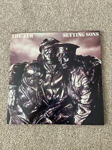 The Jam Setting Sons Vinyl Album 1979 VGC