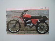 - RITAGLIO DI GIORNALE ANNO 1982 - MOTO CZ 125