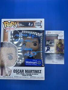 Funko Pop! The Office Oscar Martinez #1132 Signed By Oscar Nunez (JSA COA)