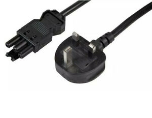 Start Lead UK / 3 Pin 13A Plug to Wieland GST18 Female 16A Power Cable - 3 Meter