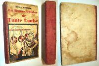 RECETTES CUISINE PÂTISSERIE TANTE LOUISE 1935 GAUFRE GALETTE KUGELOFF  ROUSSETTE
