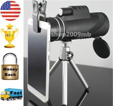 Monocular 40x60 Powerful Binoculars Zoom Glasses Handheld Telescope Military HD
