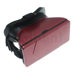 Virtual Reality Glasses Version Toto (red) Red for Android Devices