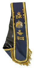 More details for royal air force raf baldric sash 100% hand embroidered