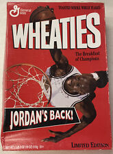 1995 Wheaties Box @ JORDAN'S BACK! Limited Edition @ The Breakfast of Champions!
