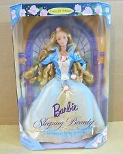 Disney Sleeping Beauty Barbie Doll Fairy Tale Princess Children Collector Series
