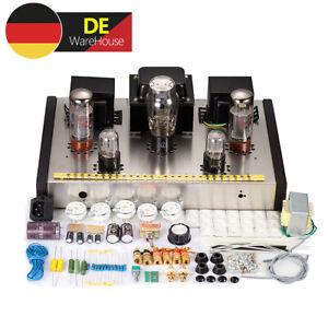 HiFi EL34 Röhrenverstärker Class A Stereo Valve Tube Power Amplifier DIY Kit 26W