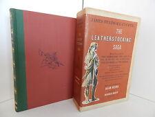 THE LEATHERSTOCKING SAGA - James Fenimore Cooper - with slipcase :1954 Pantheon