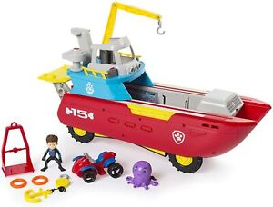 Paw Patrol Sea Patrol - Sea Patroller Transforming Vehicle with Lights and Sound