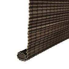 Home Decorators Collection Privacy Weave Bamboo Espresso Cordless Roman Shades