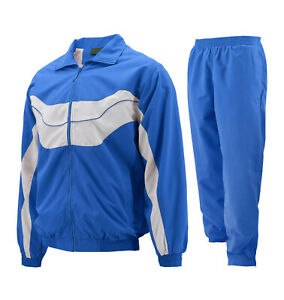 Men's Casual Running Working Out Jogging Gym Fitness Straight Leg Tracksuit Set