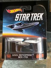 Hot Wheels Entertainment Series Star Trek USS Enterprise NCC-1701 NIP